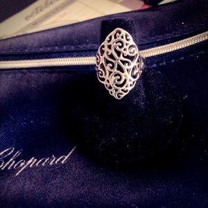Art DecoTracery Filigree Wrap Design Adorable Ring